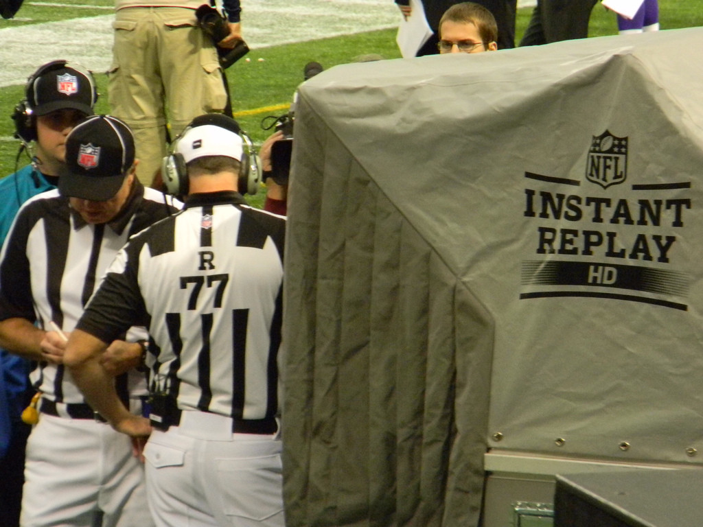 Instant Replay...like in the NFL!